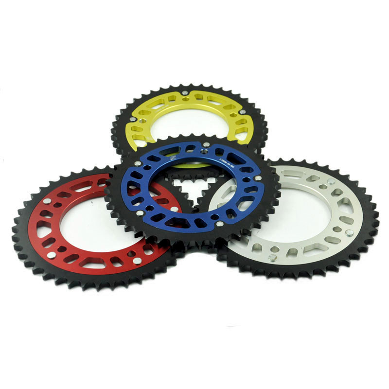 LOPOR 530 45T Motorcycle Rear Sprocket For Honda CBR1100 XX Blackbird 1997-2007 jt sprockets jtr503 45 45t steel rear sprocket