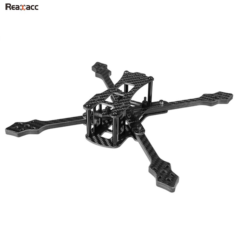 Original Realacc Furious 220mm Carbon Fiber 6mm Arm FPV Racing Frame Kit 97g Helicopter Accessories for RC Models 2017 newest realacc furious 220mm carbon fiber 6mm arm fpv racing frame kit 97g for rc racer drone fpv quadcopter diy spare part