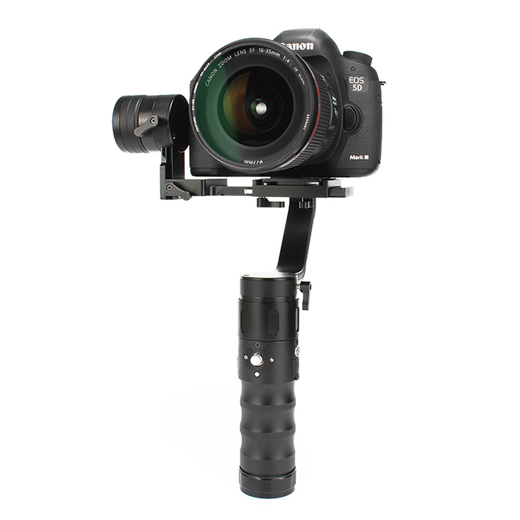EC1 32-bit 3-axle Handheld 360 Degrees Camera Gimbal Stabilizer for A7S Canon 6D/5D/7D Mirrorless Y19436 afi vs 3sd handheld 3 axle brushless handheld steady gimbal stabilizer for canon 5d 6d 7d for sony for gh4 dslr q20185