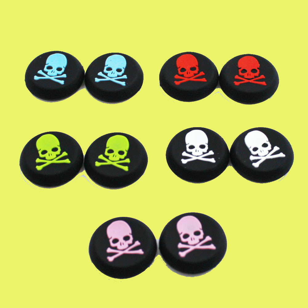 20PCS Skull Exclusive Controller Grips For PS4 PS3 Xbox 360 Xbox One Controller image