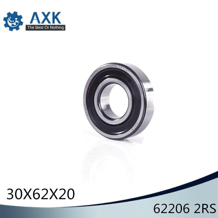 62206 2RS Non-standard 306220 Ball Bearings 30*62*20 mm ABEC-1 ( 2 Pcs ) Bearing62206 2RS Non-standard 306220 Ball Bearings 30*62*20 mm ABEC-1 ( 2 Pcs ) Bearing