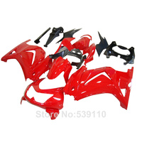 Fairing kit for Kawasaki ninja 250r red black 2008 2014 EX250 08 09 10 11 12 13 14 fairings set YK08