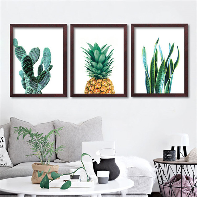 Aliexpress Com Buy Modern Minimalist Art Canvas Prints Cactus