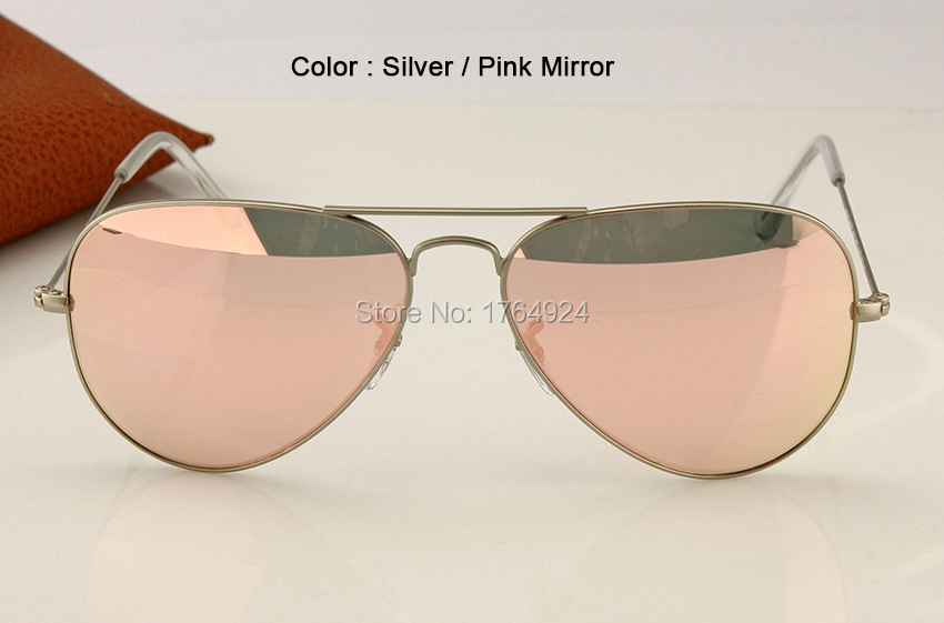RB3025 019-Z2 pink mirror