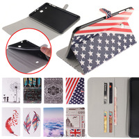 Color Mix Magnetic Cover Leather Case For Samsung GALAXY Galaxy Tab E 9 6 T560 T561