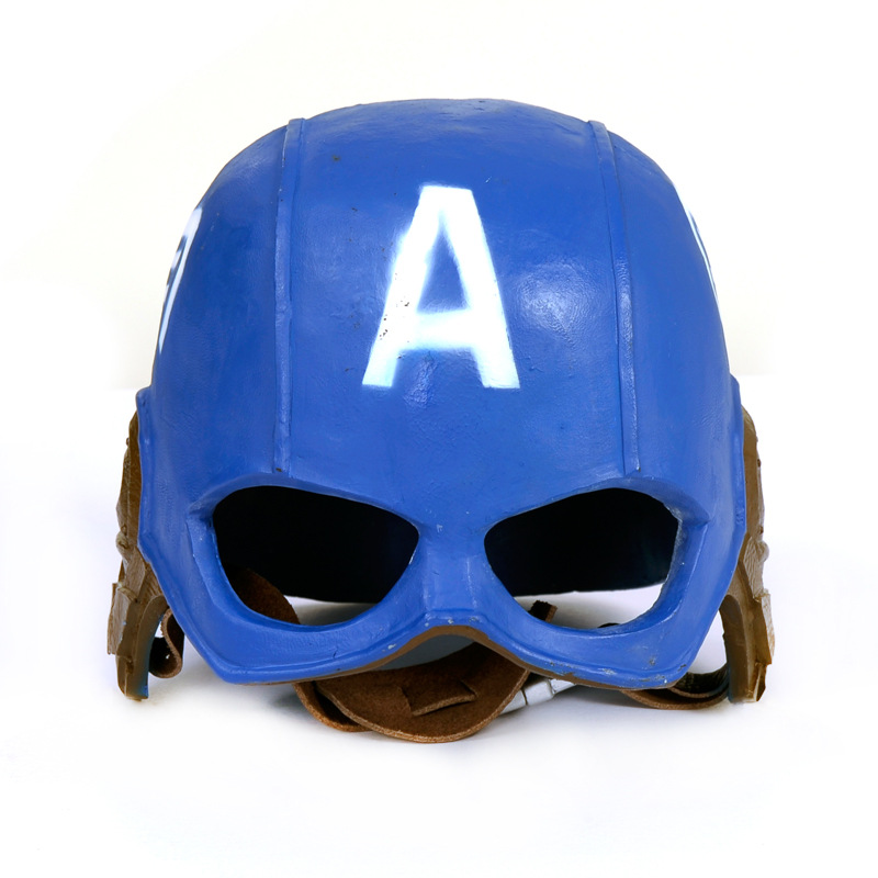 Cosplay 20*22cm The Avengers Civil War Captain America simulation helmet toy child adult costume party helmet mask replica model rollercoasters the war of the worlds