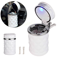 Universal Led Cigar Automobile Ashtray Cup for VW golf for Audi A4 Car Cigarette Ashtray Holder with Car Air Vent Mount EA10703