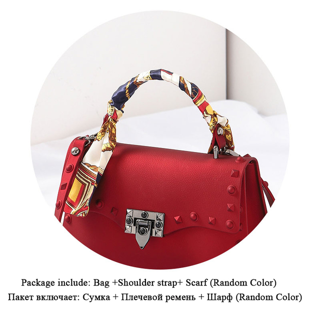 Matte PU Leather Luxury Handbags