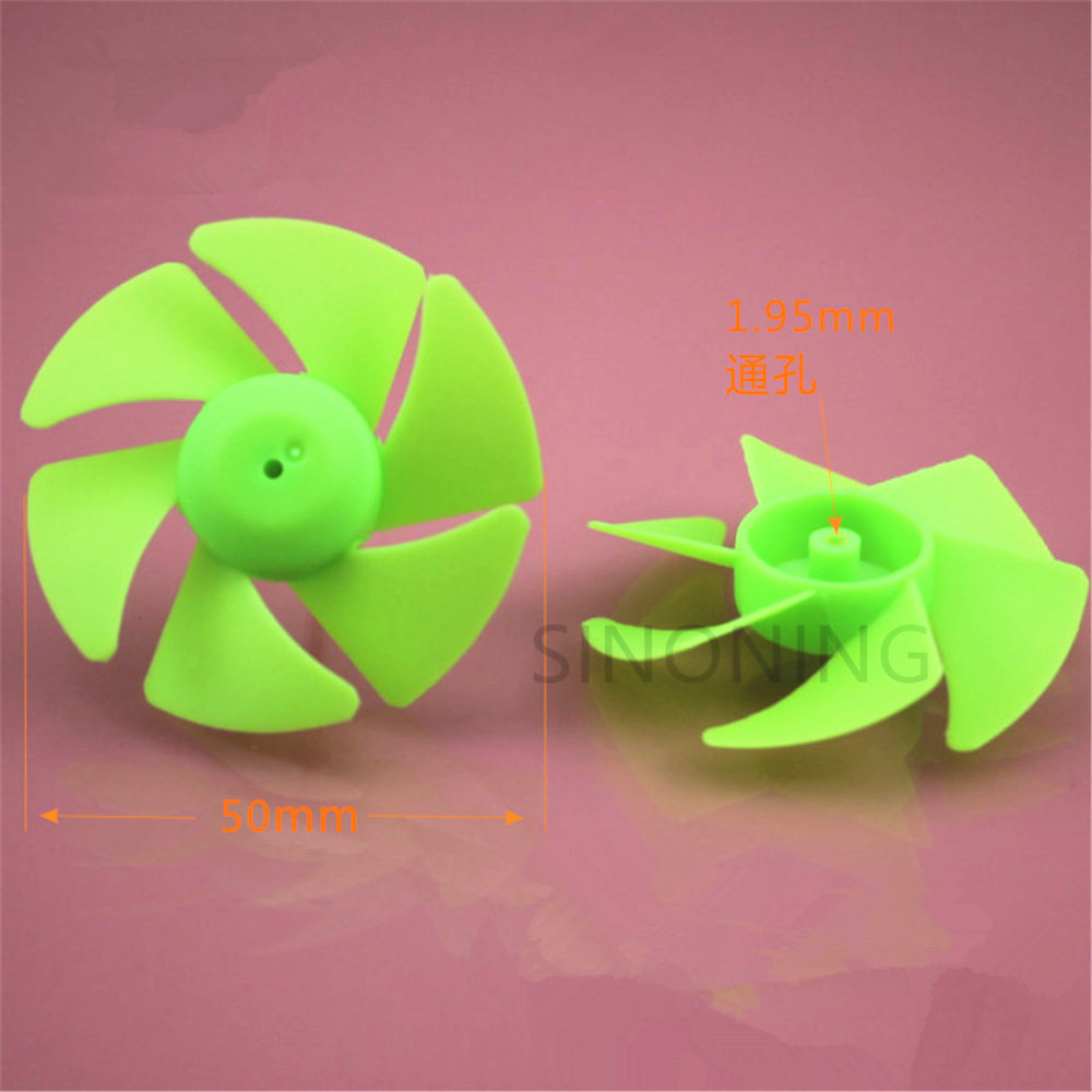 10pcs Radiator turbofan propeller six - blade paddle technology building block parts DIY toy accessories