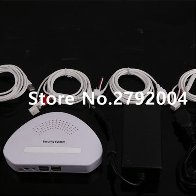 4 port mobile cellphone tablet remote control alarm security display system