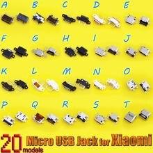 Разъем micro usb 5p разъем mini для redmi note 2/3/4 xiaomi