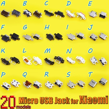 micro usb jack connector 5p mini usb connector for Redmi Note 2/3/4 for Xiaomi USB Charger Charging Connector Port Power Jack image
