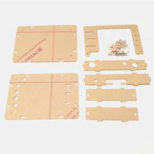 "Image 5 - Soldered DSO FNIRSI 138 2.4"" TFT Handheld Pocket size Digital Oscilloscope Kit SMD Soldered + Acrylic DIY Case Cover Shell"