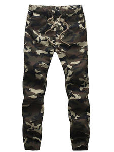 BSETHLRA Joggers Pants Trousers Harem Military Autumn Men Camouflage 100%Cotton Spring