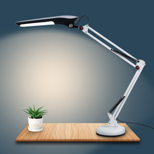 LED Desk Lamp Energy Saving Folding Rechargeable Office Table three colors Student Reading Study eye protection Lights