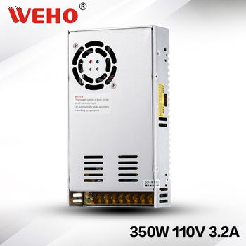 (S-350-110) CE RoHS 110VDC 350W alimentazione elettrica di commutazione 110VDC alimentazione di ingresso 350W 110VDC