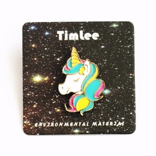 Cute Animal Unicorn Brooch Pins