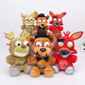 NEW 15cm / 25cm Five Nights at Freddy's FNAF Nightmare Freddy Nightmare Fox Springtrap plush keychain pendant Plush Toys Doll