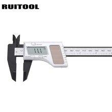 On sale RUITOOL Solar Digital Caliper 0-150mm Micrometer Inch/mm Electronic Plastic Vernier Calipers Gauges Measuring Tools