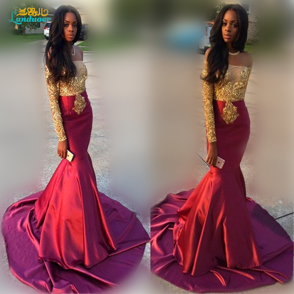 Burgundy and Black Prom Dresses  fashion dresses