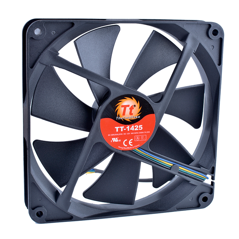 COOLING REVOLUTION HA1425L12SB-Z 14025 14mm <font><b>140mm</b></font> <font><b>fan</b></font> 140x140x25mm <font><b>12V</b></font> 0.22A Double ball bearing quiet power CPU cooling <font><b>fan</b></font> image