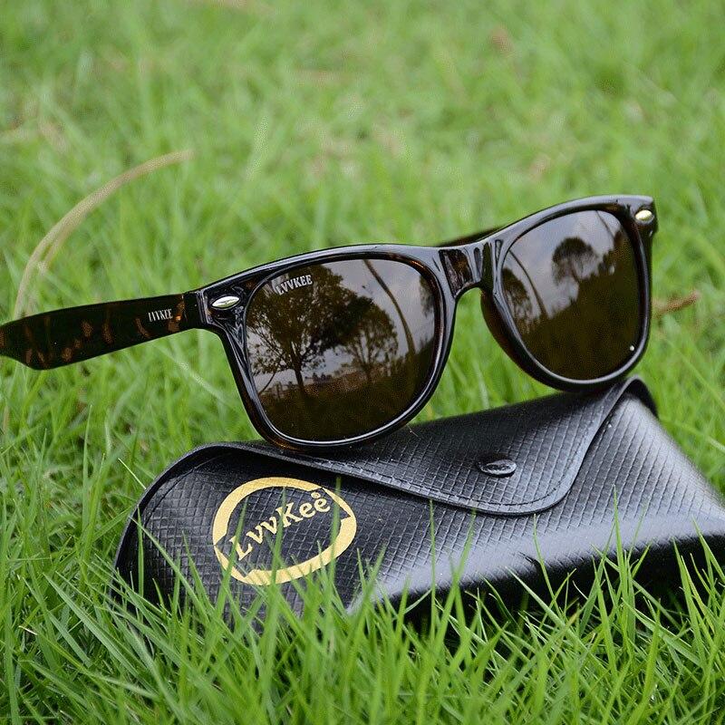 Clássico de Moda de NOVA Marca Óculos Polarizados Homens UV400 Condução  Óculos de Sol Das 586e7eedf8