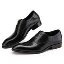 hot deal buy hot sale big size men dress shoes 2019 new fashion casual gentlemen leather shoes formal shoes business men shoes js-a0061