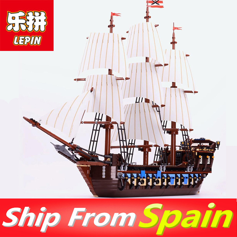 Lepin 22001 Imperial warships Pirates of the Caribbean Ship 16006 16009 LegoINGlys 4195 70618 10210 Building Blocks Bricks free shipping new lepin 16009 1151pcs queen anne s revenge building blocks set bricks legoinglys 4195 for children diy gift