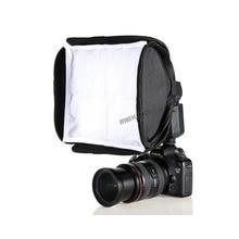 отражатель для студии вспышка для телефона софтбокс на вспышку фотозонты и софтбоксы Meking 23 см мини Softbox диффузор отказов для вспышки флэш складной для камеры DSLR Nissin Godox Shanny flash-speedlite