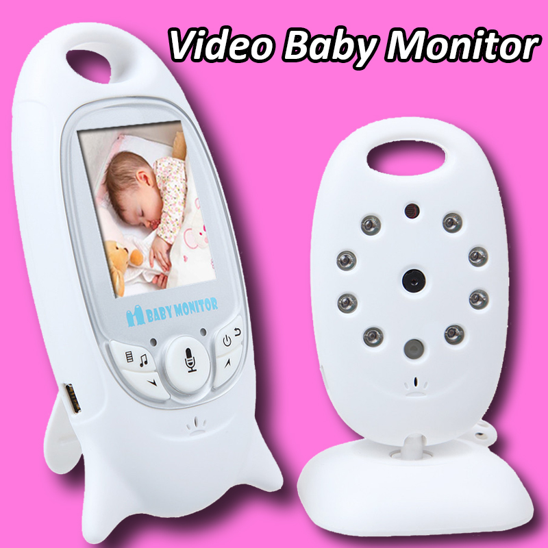 video baby monitor surveillance cameras electronica 2 inch wireless security camera night vision room temperate monitoring