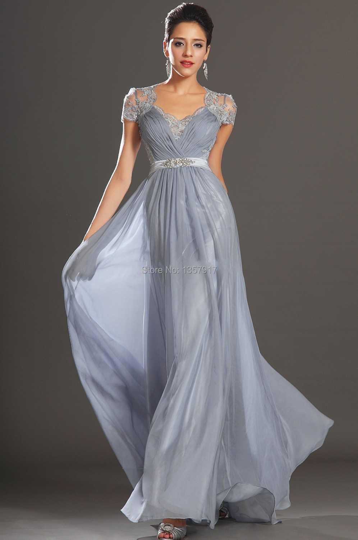Popular Silver Chiffon Dress-Buy Cheap Silver Chiffon Dress lots ...
