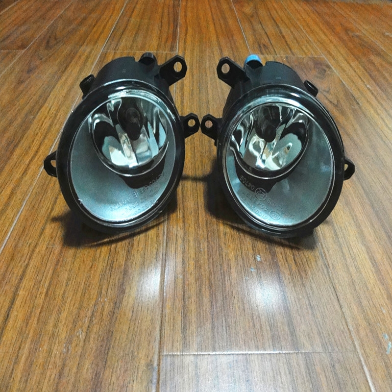 2 Pcs/Pair RH and LH Front Fog Lights Lamps With Bulbs for TOYOTA YARIS 3DR 2006-2010 2 pcs pair rh and lh front fender side marker lights turn lamps for toyota coralla 2007 2009