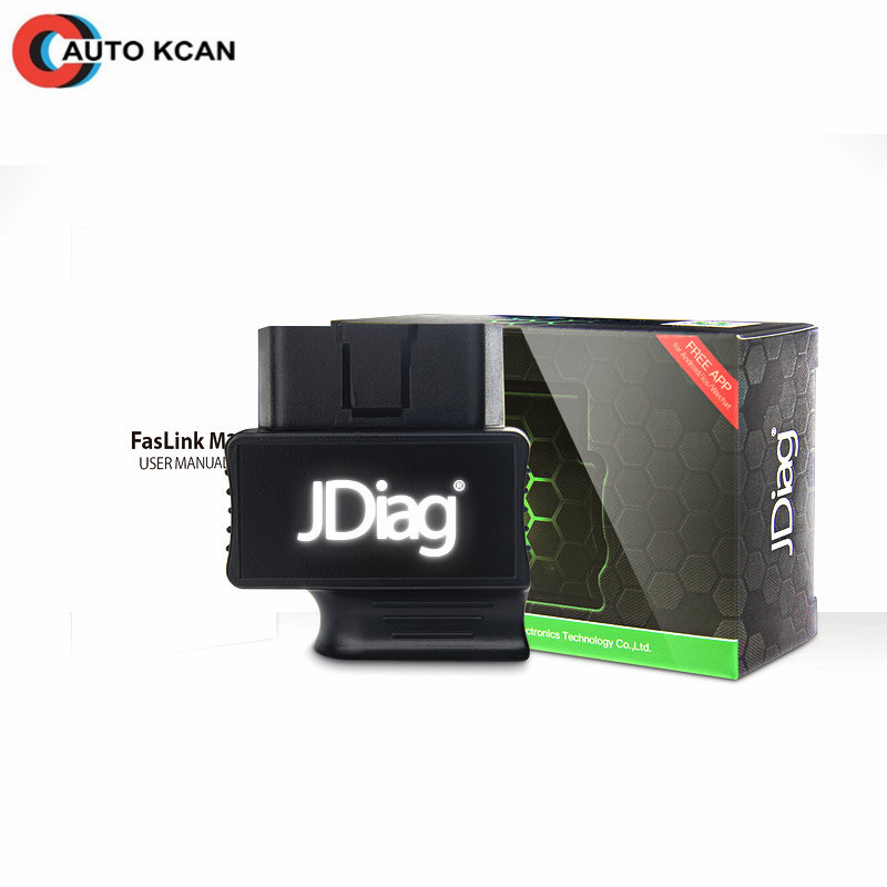 Code Reader JDiag Faslink M2 Bluetooth 4 0 OBDII Car Diagnostic Tool For iPhone Android