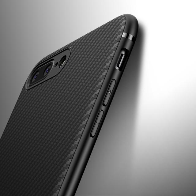 51347a1aaf0 Funda de fibra de carbono para iphone X iphone 7 8 plus XR XS Max 10 ...