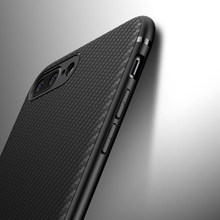 Carbon Fiber Case for iphone X iphone 7 8 plus XR XS Max 11 7 Luxury Case for iphone 6S 6 plus iphone 8 XS Max XR Cover Silicone(China)