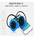 2016 New Mini 503 Neckband Sport Wireless Bluetooth Handsfree Stereo Headset Headphone Earphone for Mp3 Player,XSE18