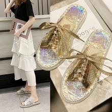 купить Luxury Designers Shoes Women 2019 Flat Slippers Summer Breathable Fashion Outside Flip-Flop Sandals Slides Beach Non-Slip Ladies по цене 1075.08 рублей