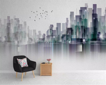beibehang Custom photo wallpaper mural Modern Fashion City Abstract Landscape Background wall 3d paper papel de parede