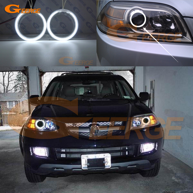 For Acura MDX Excellent Angel Eyes Ultra Bright - 2004 acura mdx headlights