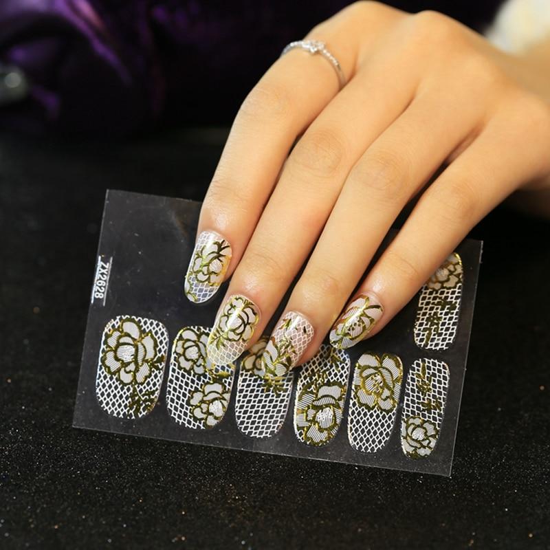 Beautiful Nail Lace Designs Image Composition - Nail Art Ideas ...