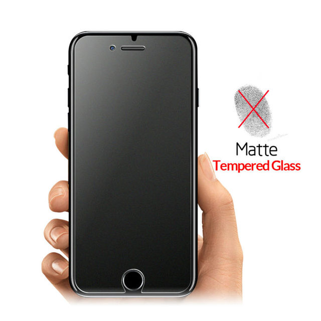 Matte Screen Protector Tempered Glass For iPhone 7 7 plus
