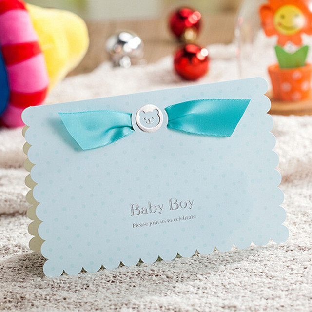 Children\u0027s Day Theme 20PCS/Lot Baby Shower Party Invitations Cards - 's day party invitation