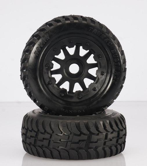 baja 5T/5SC New rear road tyres set 95165 fid metal rear upper suspension arm for lt 5t 1 set crazy off road weapon