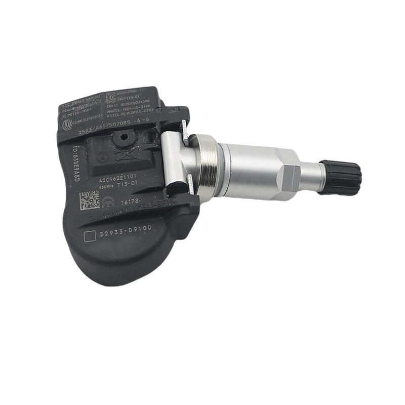 52933-D9100 433Mhz Tire Pressure Monitor Sensor TPMS For Kia NIRO SPORTAGE 17-19 SORENTO 18-19 GENESIS G90 17-18 HYUNDAI 2018