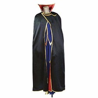 2018 Code Geass Cosplay Lelouch of the Rebellion Zero Cosplay Purple Mens Code Geass Cosplay Costume
