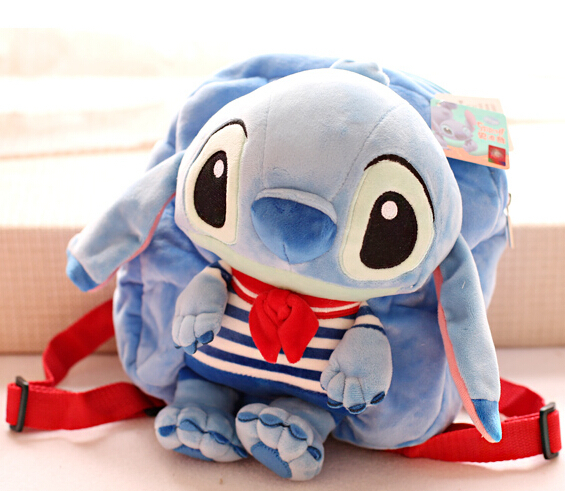 97e9adf5b52a Candice guo plush toy stuffed doll cartoon funny movie cat Garfield Lilo  Stitch Satchel backpack bag shoulder schoolbag package-in Plush Backpacks  from Toys ...