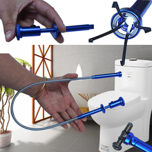 Magnet Pick Up Tool Claw With LED Light Torch Magnetic Reach Blue Fingers Prongs