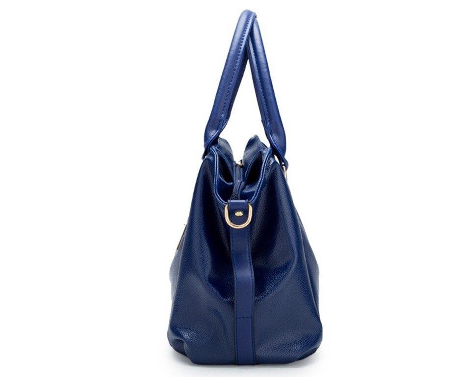 Hazy beauty Women Handbag Female PU Leather Bags Handbags Ladies Portable Shoulder Bag Office Ladies Hobos Bag Totes 78
