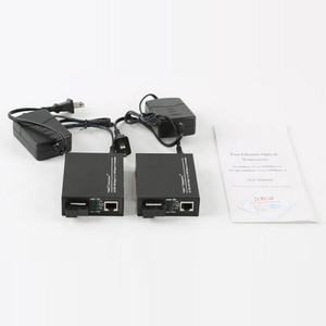Image 4 - 1 double 1000Base 1.25G SC Netlink 20Km Fiber Optical media converter singlemode Simplex Optic RJ45 20KM Fiber Optic Transceiver