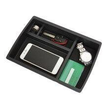 Профессиональные автомобиля подлокотник ящик для хранения Контейнер Лоток подходит для автомобиля Toyota Crown Средства для укладки волос черный